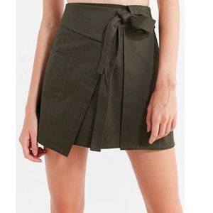 Urban Outfitters Skirts - NWT UO Green Wrap Skirt